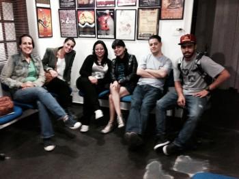 Final Cut – Outubro de 2013 – Luisa, Vanessa, Ana Beatriz, Flavia e Pedro