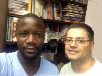Premiere – Fev / 2014 – Lucas aluno de Angola