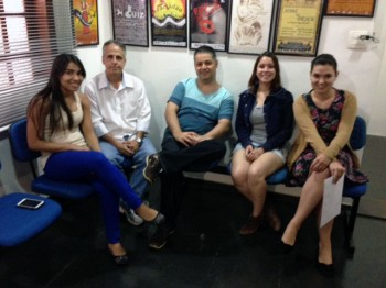 Premiere – Dez / 2014 – Michele, Luiz, Felipe, Lillian e Agatha