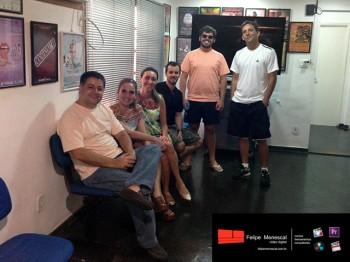 Final Cut  – Jan / 2015 – Felipe, Eliana, Brigida, Carlos Eduardo, Felipe e Ronaldo
