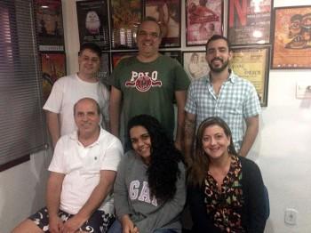 Premiere – Jul / 2015 – Felipe Menescal, Rogerio Cirino, Pedro Bello, Mario Jaccoud, Agatha Barros e Juliana Shakt