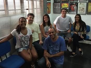 Premiere – Jul / 2015 – Alexandra, Felipe, Amanda, Benedita e Ronaldo