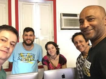Curso Adobe Premiere – Novembro de 2015 – Bruna, Homero, Will e Robson